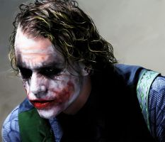 The Joker-Heath Ledger by pela5630