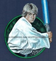 Star Wars - Luke Skywalker (2014) by scotty309