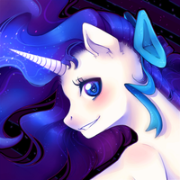 Sparkling Beauty (icon gift) by KyiwtieArt