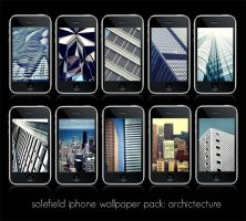 iPhone WP Pack: Architecture by solefield