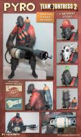 Pyro Papercraft Download by Avrin-ART