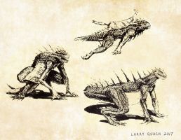 Varan Sketches by NoBackstreetboys