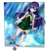 Wendy Marvell Fairy Tail 540 chapter by LunarDragonSlay
