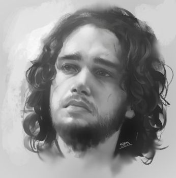 Jon Snow by CGSoufiane