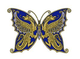 Thracian Butterfly 1 by dashinvaine