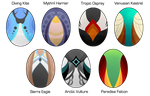 [Design] Gryphon Eggs - Flatsale - CLOSED by Solar-Paragon