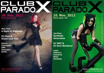 Flyer: Paradox NOV 2012 by AeWolf