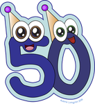 Happy 50 by MeMiMouse