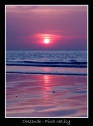 Oostende - Pink reality by lux69aeterna