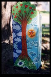 Tree of Life Mini-Armoire by ReincarnationsDotCom
