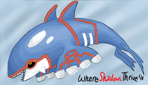 Kyogre by WhereShadowsThrive