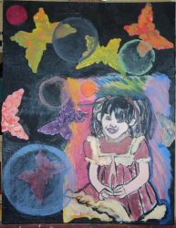 My Childhood Self with Butterflies by CassandraMalfoy