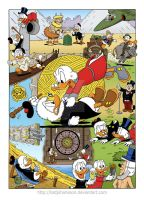 Flintheart Glomgold's 60th anniversary by TedJohansson