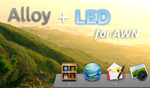 Alloy + LED AWN theme by Aeron-GT