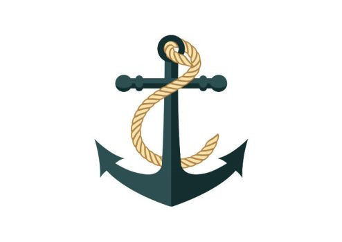 Anchor Flat Vector by superawesomevectors