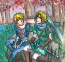 Winter: Sheik and Link by Link-fizzle
