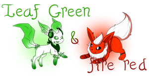 ::OC:: Leaf Green and Fire Red by AngelLightYT