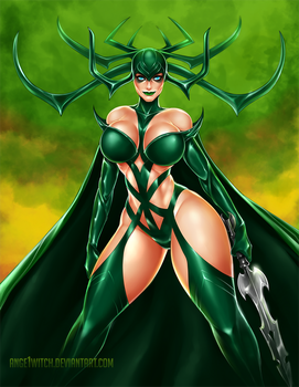 Hela by Ange1Witch