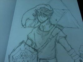 sketch: Link by LordSpade