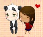 Panda+Love by shidabeeda