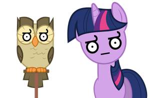Vector 07} Owloysius and Twi by pixiepea