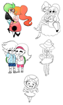 Paper Mario Sketches 2 by TheRejectedCulb