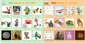 2014 Summary of Art FROGandTOAD by FROG-and-TOAD