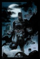 Jim Lee'S The Dark Knight by thosemortalmen