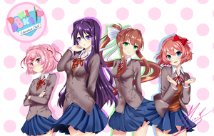 Doki Doki Literature club!! by Neru-kuroshiru
