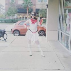 Space Ghost/Sailor Moon cos-player by TallLeprechaun