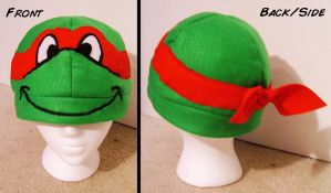 TMNT Raphael Hat by Red-Flare