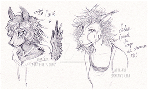 {Gift : Cirrus and Salem} by noiresetoiles