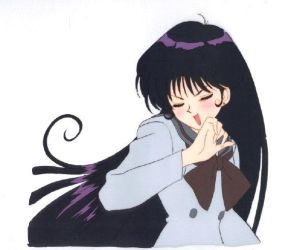 Sailor Moon Production Cel of Rei by avaneshop