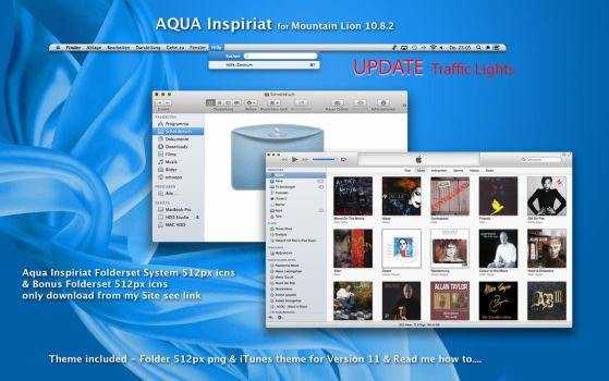 AQUA Inspiriat Theme Mountain Lion Update by emoopo