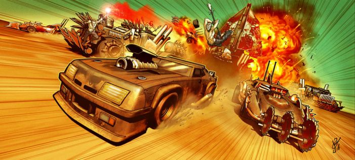 Mad Max Chase by DazTibbles