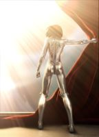 Alita Gally 3d GUNNM LOv3p188 by m000V