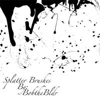 Splatter Brushes by bobthebldr