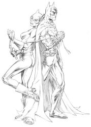Batman and Catwoman by RandyGreen