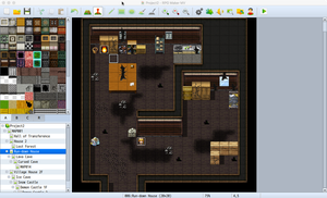RPG Maker - Inside a House by Cyber-Angel-Rowan