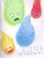 Calcifer The Fire Demon #1 by Ahtilak