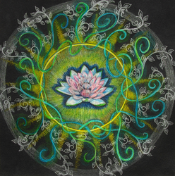 the pink lotus by hadas64