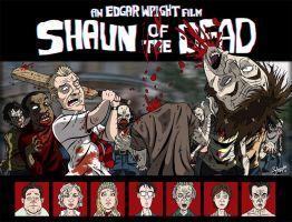 Shaun Of The Dead. by stayte-of-the-art
