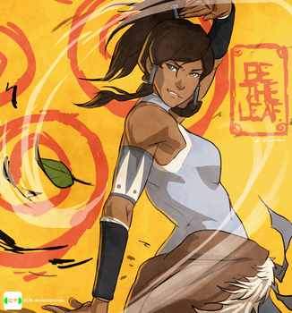 Air Korra by dCTb