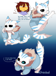 Cheshire Cat Sans by sheebal