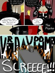 Grita the Reaper Versus Quint Page 6 by Symon-Says
