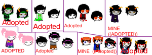 Homestuck Fan Characters for adoption (CLOSED) by thekittylover