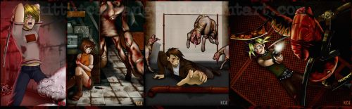 Yugioh Meets Silent Hill Again by Kitty-Cat-Angel
