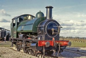 Portrait of a Saddle Tank by Brit31