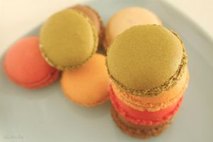 Macarons I by Nora-Sims