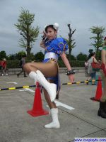 Chun Li from Street Fighter by Cosplayfu